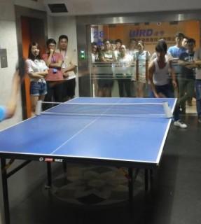 """""""运动挥洒激情,青春绽放活力""""——2017年上海波导夏季乒乓球比赛"""